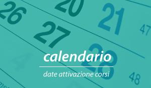 calendario attivazione corsi