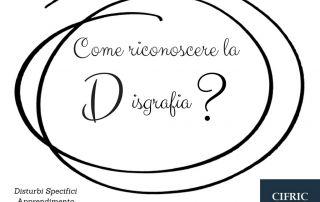 DISGRAFIA Disturbi Specifici Apprendimento DSA